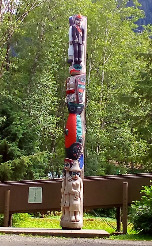 """Honoring those who give"" Commemorating the founding of the Totem Heritage Center, 1976 by bryandkeith on flickr"