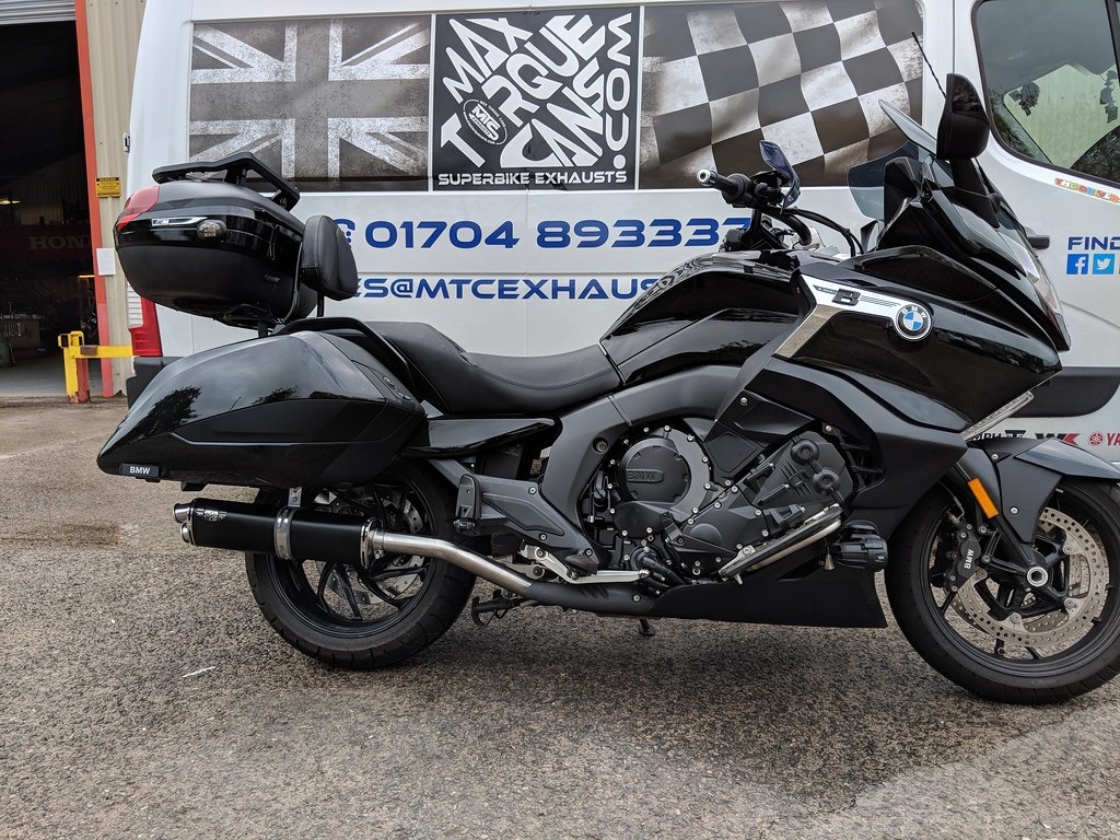 BMW K1600 Bagger Max Torque Cans Motorbike Exhausts and Mufflers (1)