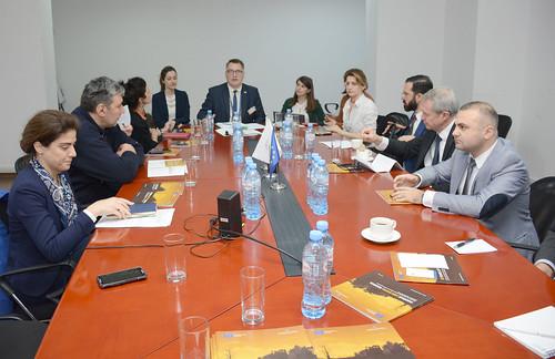 საერთაშორისო სისხლის სასამართლოს წარმომადგენლებთან თანამშრომლობა 25.10.18-26.10.18 Cooperation with Representatives of International Criminal Court