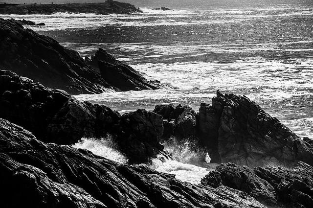 Morbihan, Quiberon, B&W, 03