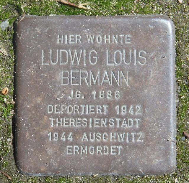 LUDWIG LOUIS BERMANN * 1886 Parkallee 22 (Eimsbüttel, Harvestehude)