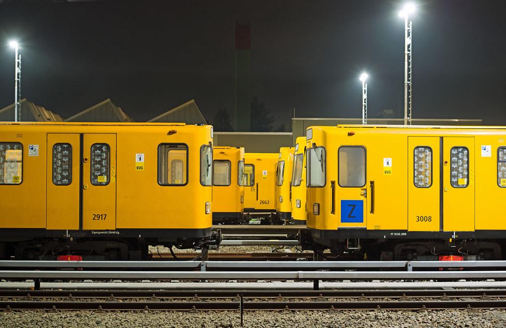 Berlin BVG U-Bahn Werkstatt Gutschmidtstr. Britz Süd | Flickr