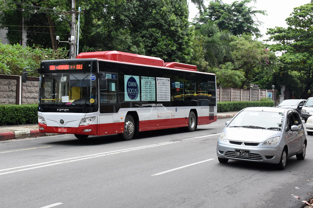 Yangon Bus Service YGN 4P-1133 (Omni Focus) | 29/09/18. Alan… | Flickr