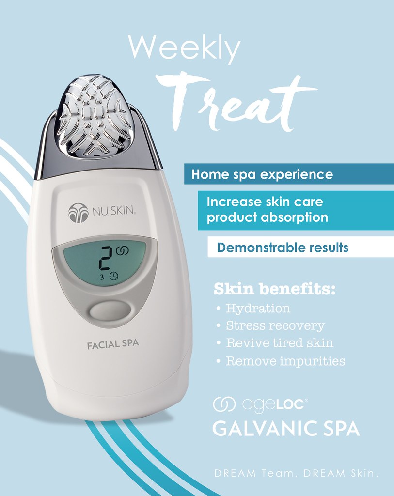 Ageloc Com treat with ageloc galvanic spa | nu skin sea | flickr