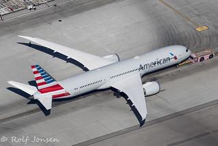 N833AA Boeing 787-9 American Airlines Los Angeles airport KLAX 14.09-18 | by rjonsen