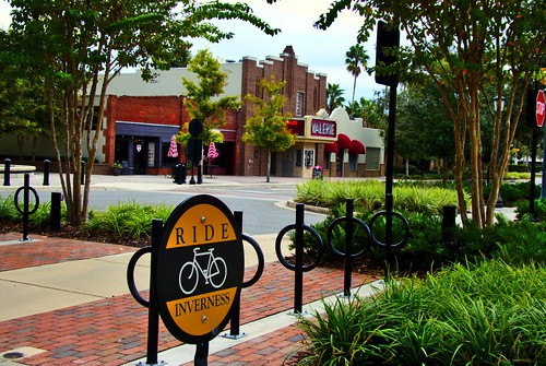 inverness downtown bicycle sixwordstory florida