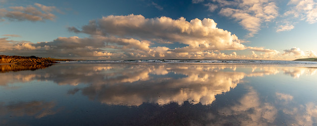 Inchydoney Beach at Sunset
