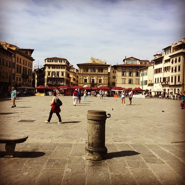 2018-09 Piazza Santa Croce, Firenze.