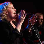 Mon, 01/10/2018 - 7:19am - Amy Helm and her band perform at Rockwood Music Hall in NYC for WFUV Public Radio, 10/1/18. Hosted by Carmel Holt. Photo by Gus Philippas/WFUV