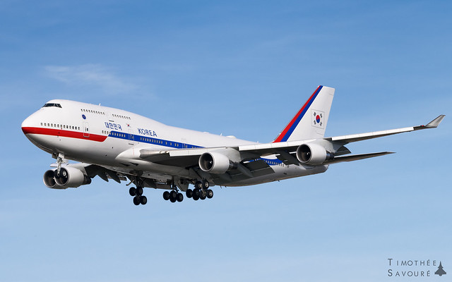 ORY | Korean Government Boeing 747-400