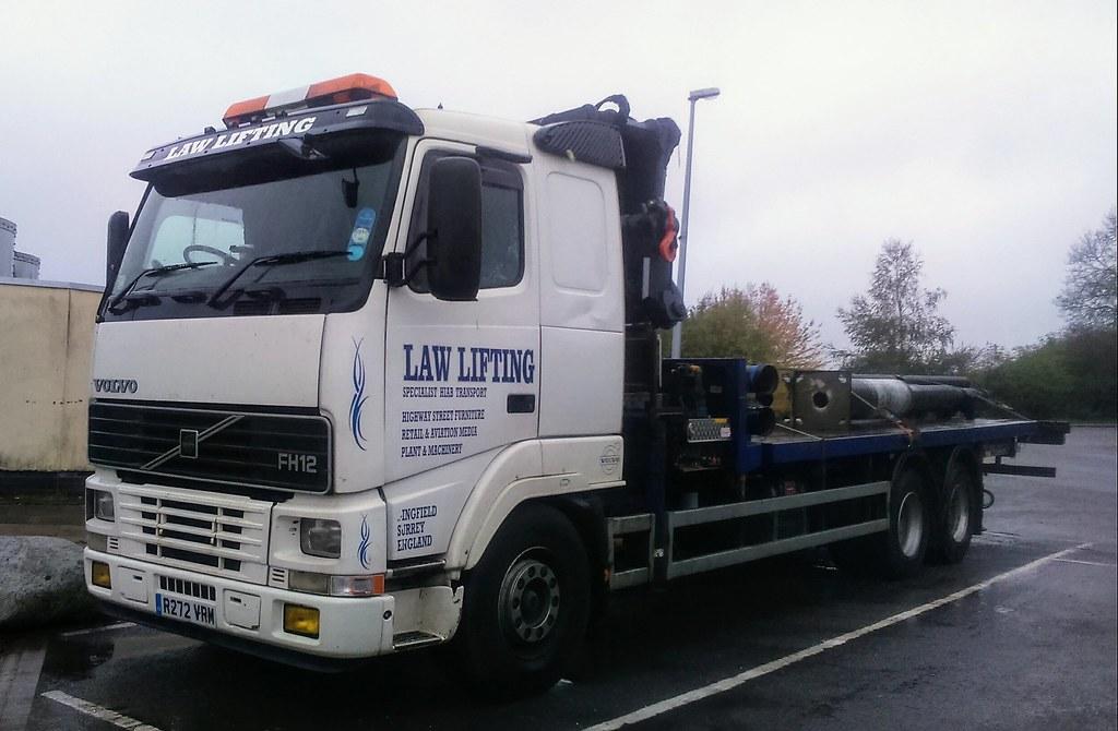 Law Lifting Volvo Fh12 Rigid Flatbed R272 Vrm Flickr