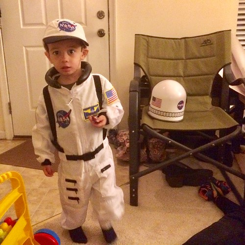 Ezra as astronaut for Halloween | by brownpau