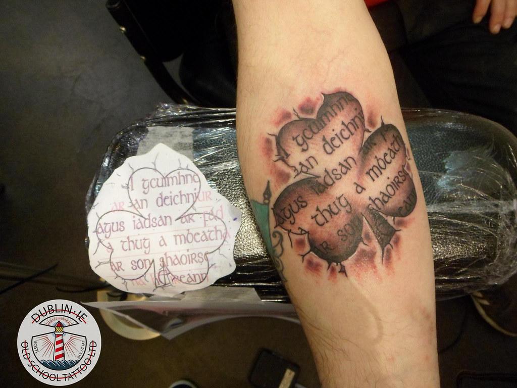 Image result for shamrock tattoo