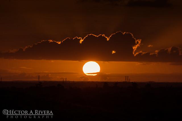 Sunset in Guayama