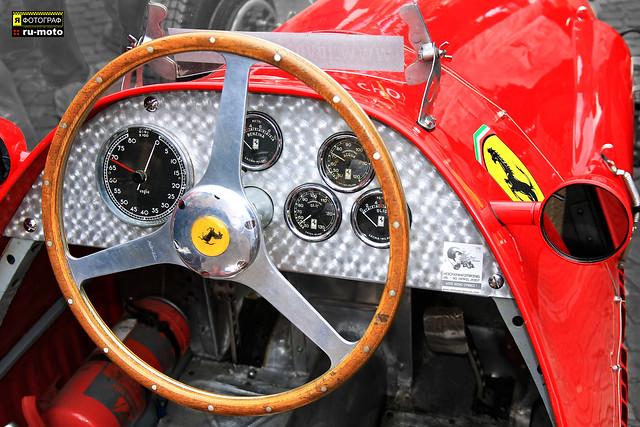 Ferrari 500 F2 original Ascari car (c) Bernard Egger :: rumoto images 4615
