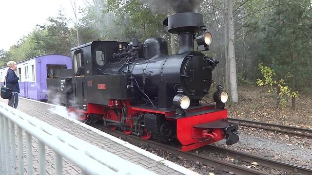 1953 Berlin Dampflok Luise Typ Las von FABLOK in Chrzanow in Polen Werk-Nr. 3043 Parkeisenbahn im Volkspark Wuhlheide An der Wuhlheide 189 in 12459 Schöneweide