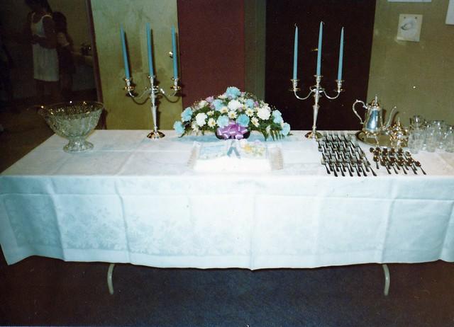 SCN_0049 dedication of new building reception table 19740623