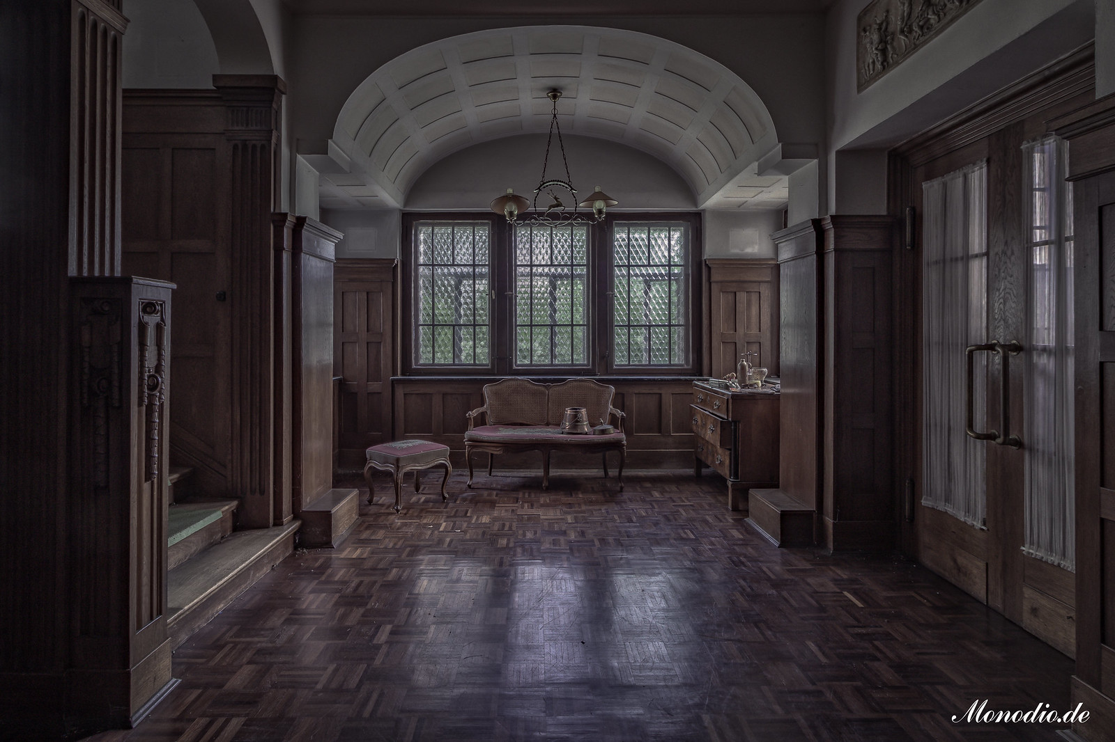 Die Villa des Chefarztes