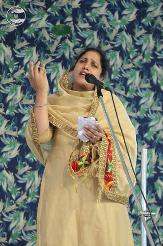 Devotional song by Namrata Sethi from Timarpur Delhi