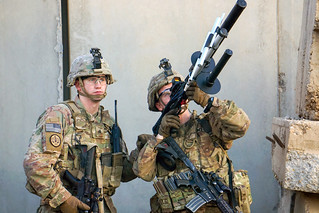 Brave Rifles conduct counter-unmanned aerial system drill
