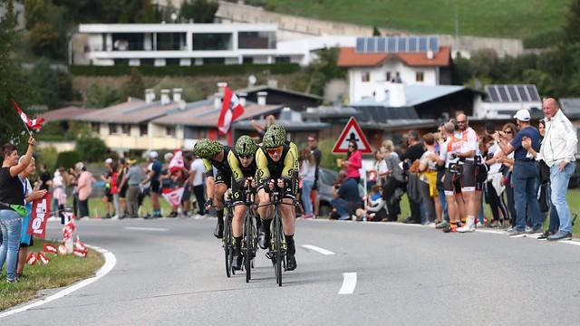 Team Mitchelton-Scott bei den 2018 UCI Road World Championships Innsbruck-Tirol