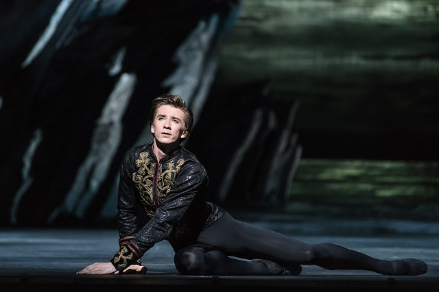 Vadim Mutagirov as Prince Siegfried in Swan Lake, The Royal Ballet © 2018 ROH. Photograph by Bill Cooper