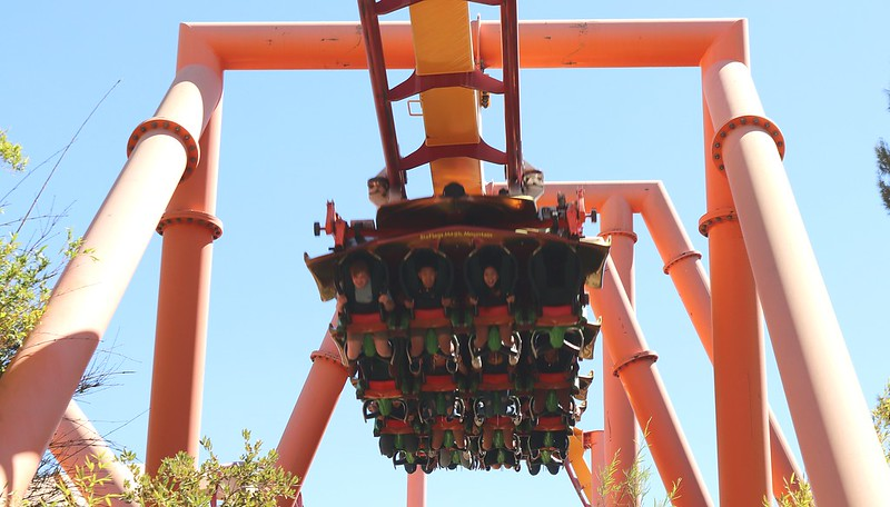 Tatsu ~ The Flying Roller Coaster