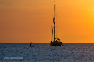 Sunset with yachts near Phuket island, Thailand               XOKA2019s | by Phuketian.S