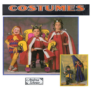 Simplicity 9236 medieval court costumes
