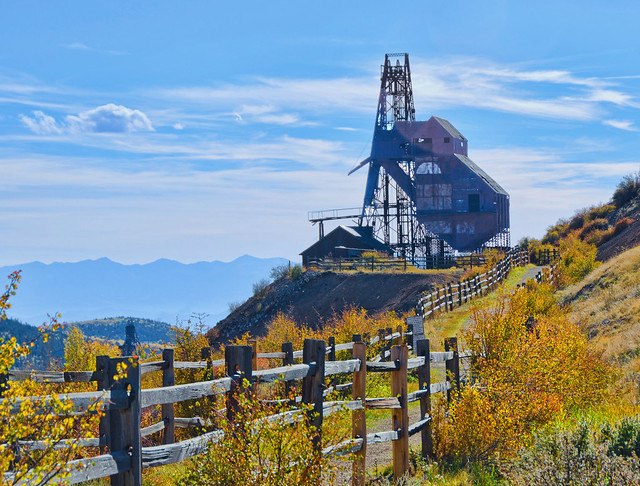 The Historical Theresa Gold Mine, Victor Colorado