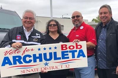 So Cal L&P CWA met with Bob Arhuleta for Senate District 32