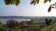 Lake Hald below