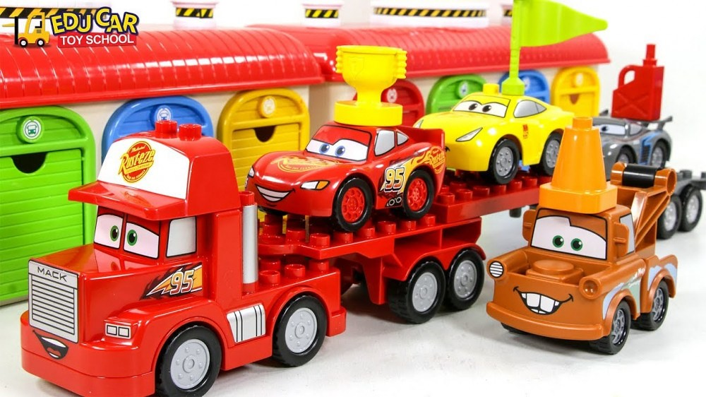 Learning Color Disney Pixar Cars Lightning Mcqueen Mack Truck Lego Play For Kids Car Toys A Photo On Flickriver
