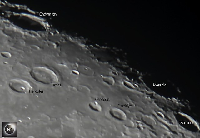 Lunar Craters Endymion, Messala & Geminus 26/10/18