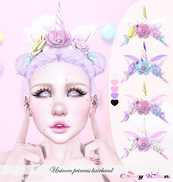 unicorn princess hairband at Sense event