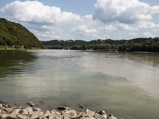 Confluence of the Rivers Danube and Inn | by Son of Groucho