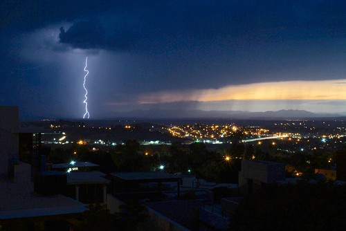 Lightning Strike Over Allende