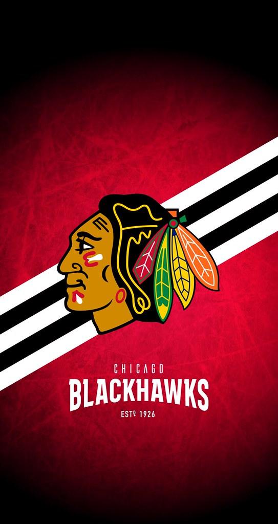 Chicago Blackhawks Nhl Iphone 6 7 8 Lock Screen Wallpape Flickr