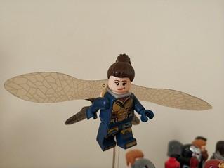 #lego #marvel #wasp #minifigure #custom #fix #antman #upgraded#howtomake #how | by Robotnik111