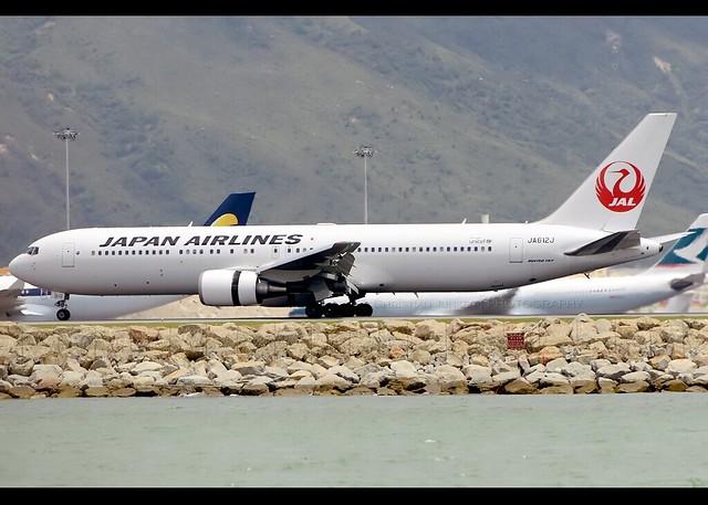 B767-346/ER | Japan Airlines | JA612J | HKG