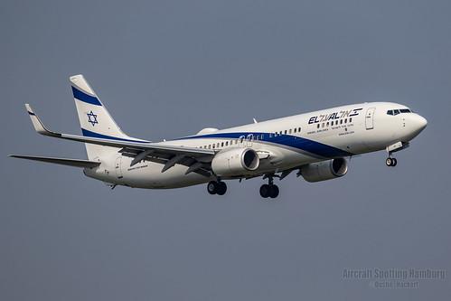 El Al Israel Airlines Boeing 737-958 4X-EHF