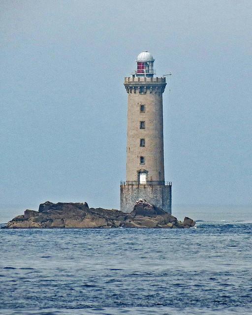 Kereon (Men-Tensel) Lighthouse, Ile De Ouessant, Brittany, France