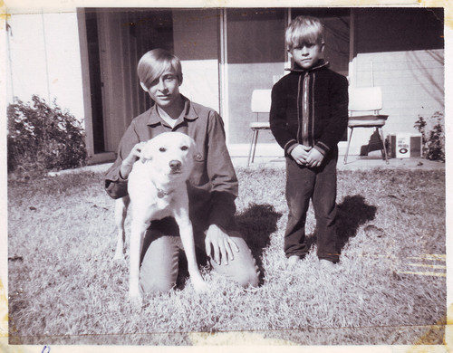 uncles and a dog, christmas 1968 | by <def>