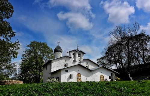 Pskov. Ancient Orthodox Church
