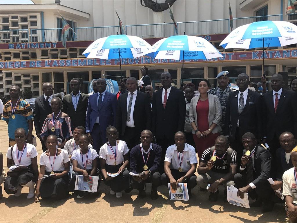 Lubumbashi, Haut- Katanga, RD Congo : On the occasion of t