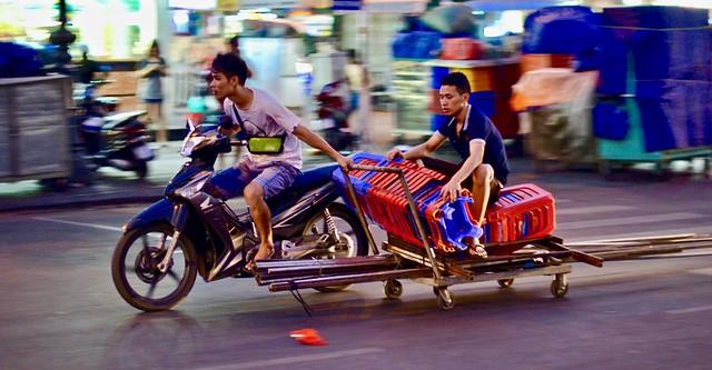Provisional Motorbike Sidecar | Saigon Vietnam