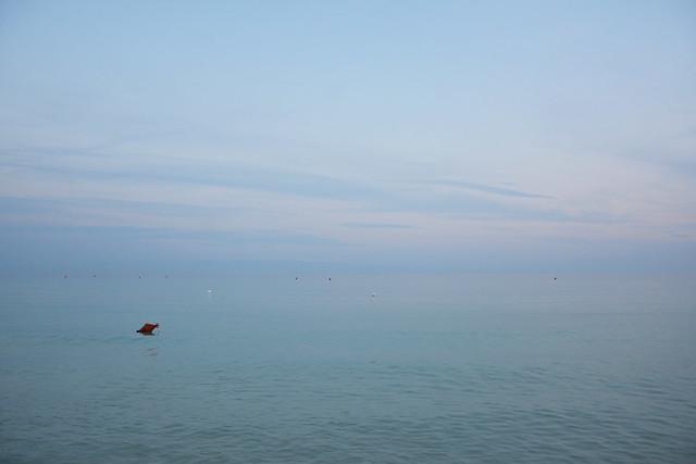 Minimalismo marino - Marine minimalism.
