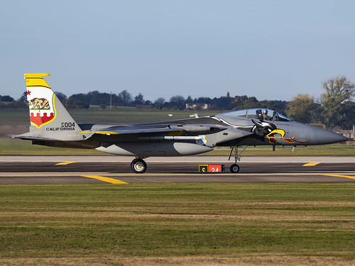 United States Air Force   McDonnell Douglas F-15C Eagle   84-0004   by MTV Aviation Photography