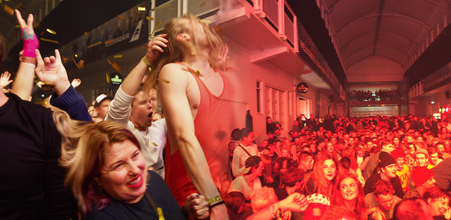 At the Art Gallery - Iceland Airwaves 2017 - View from Photographers' Pit - Coming to Winnipeg