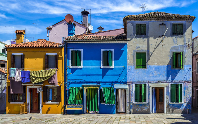 Burano...the invention of colours